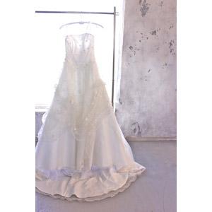 フリー写真, 結婚式(ブライダル), ウェディングドレス, 6月, ジューンブライド