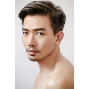 フリー写真, 人物, 男性, アジア人男性, 男性(00196), タイ人, 白背景