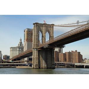 フリー写真, 風景, 建造物, 橋, 河川, アメリカの風景, ニューヨーク