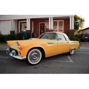 フリー写真, 乗り物, 自動車, クラシックカー, クーペ, フォード, フォード・サンダーバード