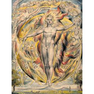 フリー絵画, ウィリアム・ブレイク, 物語画, 寓意画, 太陽