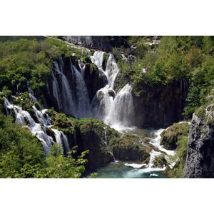 フリー写真, 風景, 自然, 滝, プリトヴィツェ湖群国立公園, クロアチアの風景, 世界遺産