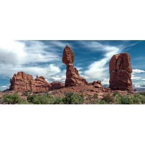 フリー写真, 風景, 自然, 岩, アーチーズ国立公園, アメリカの風景, ユタ州
