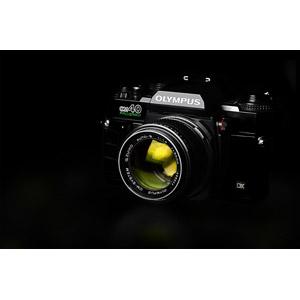 フリー写真, 家電機器, カメラ, 一眼レフカメラ, オリンパス, 黒背景