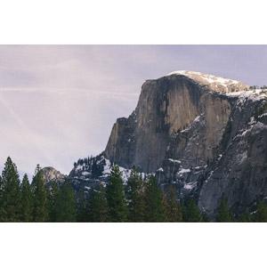 フリー写真, 風景, 自然, 渓谷, 岩山, 岩, ハーフドーム, ヨセミテ国立公園, カリフォルニア州, アメリカの風景