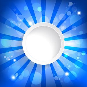 フリーイラスト, ベクター画像, AI, 背景, 抽象イメージ, 円形(サークル), 放射線状, 玉ボケ