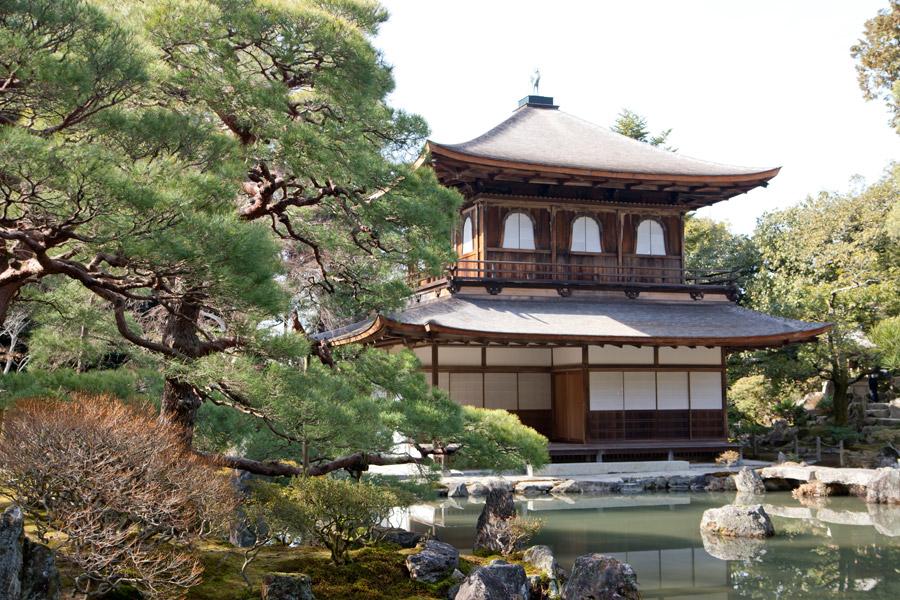 フリー写真 銀閣寺の風景