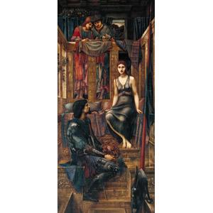 フリー絵画, エドワード・バーン=ジョーンズ, 物語画, 国王(キング), 剣(ソード), 王冠(クラウン)