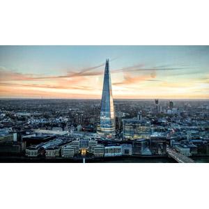 フリー写真, 風景, 建造物, 建築物, 高層ビル, 都市, 街並み(町並み), ザ・シャード, イギリスの風景, ロンドン