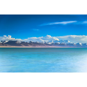 フリー写真, 風景, 自然, 湖, 山, チベット, 中国の風景
