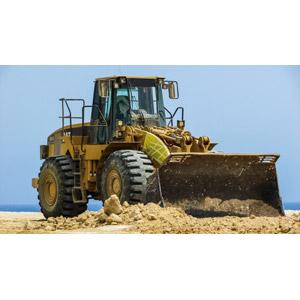 フリー写真, 建設機械(重機), ホイールローダー, 土木, 工事