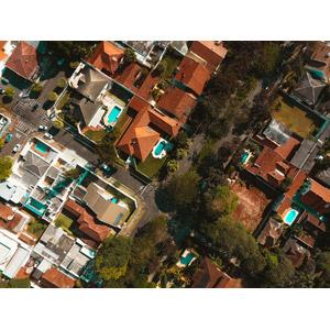 フリー写真, 風景, 建造物, 建築物, 街並み(町並み), 住宅, 家(一軒家), ブラジルの風景