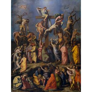フリー絵画, アレッサンドロ・アッローリ, 宗教画, キリスト教, イエス・キリスト, 十字架, 処刑, キリスト降架, 悲しい, 死