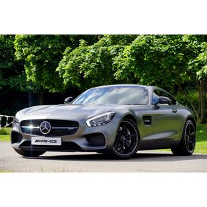 フリー写真, 乗り物, 自動車, スポーツカー, クーペ, メルセデス・ベンツ, メルセデスAMG・GT