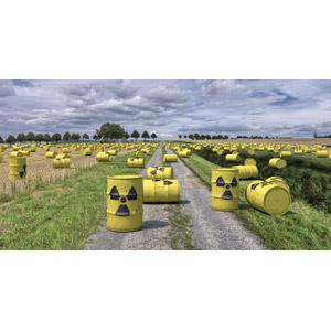 フリー写真, フォトレタッチ, 風景, 放射性廃棄物, 原子力発電, 放射能(放射線), ドラム缶