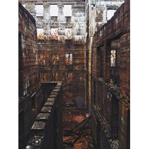 フリー写真, 風景, 建造物, 建築物, 廃墟, アメリカの風景, ニューヨーク州