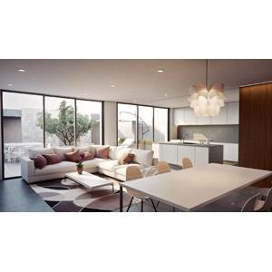 フリーイラスト, 風景, 部屋, リビングルーム, 食卓(テーブル), ソファー