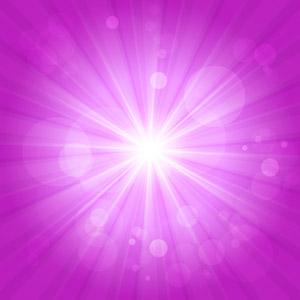 フリーイラスト, ベクター画像, AI, 背景, 抽象イメージ, 光(ライト), 放射線状, ピンク色, 閃光
