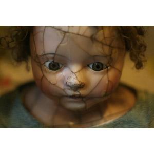 フリー写真, 人形, ひび割れ