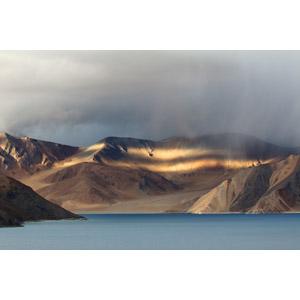 フリー写真, 風景, 自然, 湖, 山, ヒマラヤ山脈, インドの風景, 中国の風景
