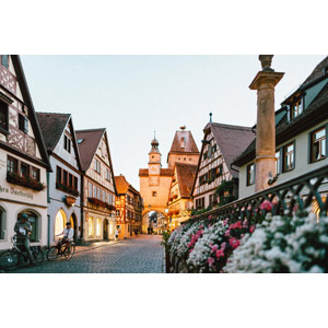 フリー写真, 風景, 建造物, 建築物, 旧市街, 街並み(町並み), ドイツの風景, バイエルン州