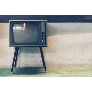 フリー写真, 家電機器, テレビ(TV), ブラウン管テレビ