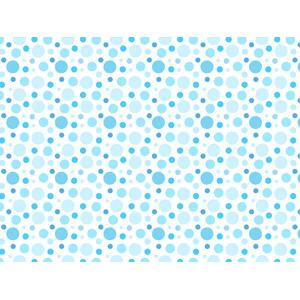 フリーイラスト, ベクター画像, AI, 背景, 青色(ブルー), 水玉模様(ドット柄), 円形(サークル)