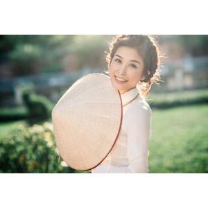 フリー写真, 人物, 女性, アジア人女性, 女性(00251), ベトナム人, ノンラー