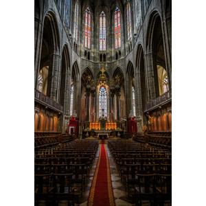 フリー写真, 風景, 建造物, 建築物, 教会(聖堂), フランスの風景