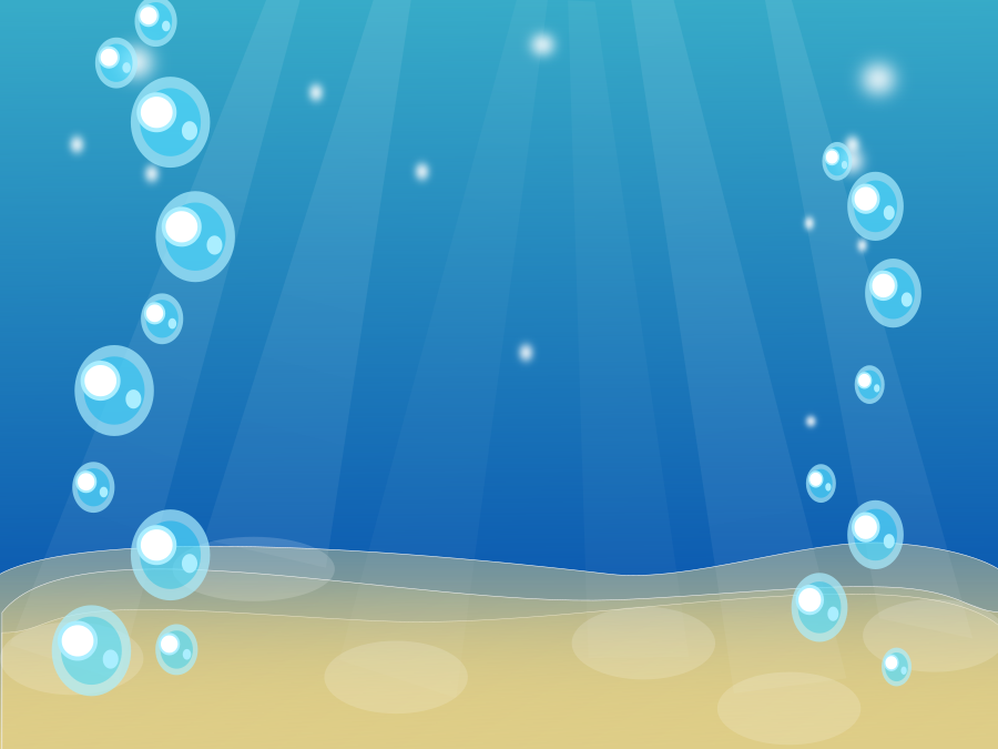 フリーイラスト 水中の泡の背景