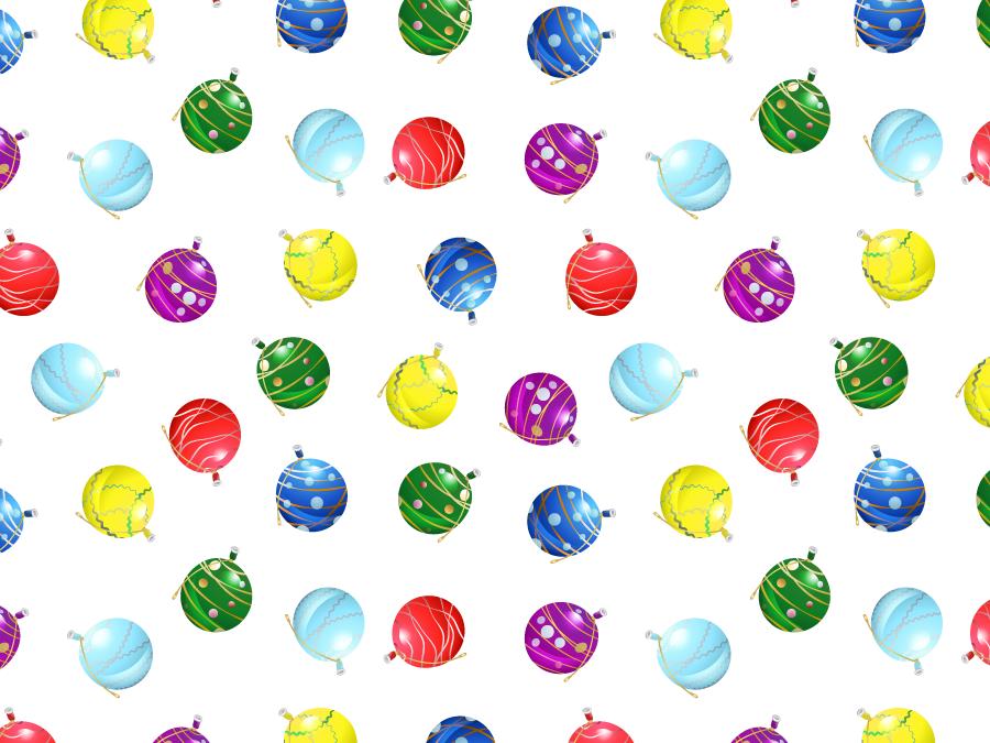 フリーイラスト 水ヨーヨーのパターン背景
