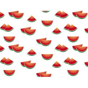 フリーイラスト, ベクター画像, AI, 背景, 食べ物(食料), 果物(フルーツ), 西瓜(スイカ), 夏