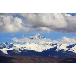 フリー写真, 風景, 自然, 山, エベレスト(チョモランマ), ヒマラヤ山脈, 雲