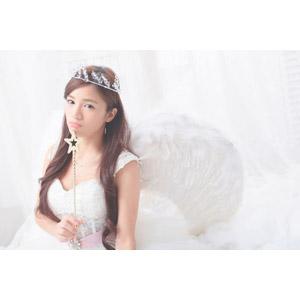 フリー写真, 人物, 女性, アジア人女性, Daisy(00265), 中国人, 天使(エンジェル), 魔法の杖(ロッド)