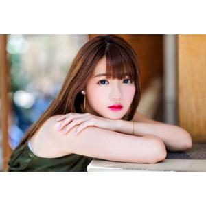 フリー写真, 人物, 女性, アジア人女性, 欣欣(00001), 中国人, 肩を抱く