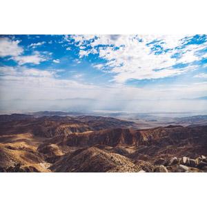 フリー写真, 風景, 自然, 太陽光(日光), 薄明光線, 雲, 山, アメリカの風景, カリフォルニア州