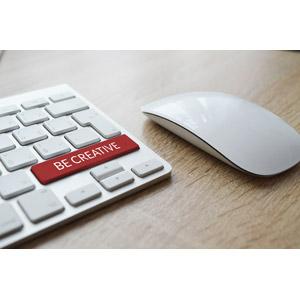 フリー写真, パソコンの周辺機器, キーボード(PC), マウス, クリエイティブ