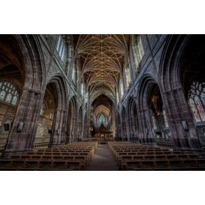 フリー写真, 風景, 建造物, 建築物, 教会(聖堂), チェスター大聖堂, イギリスの風景, イングランド