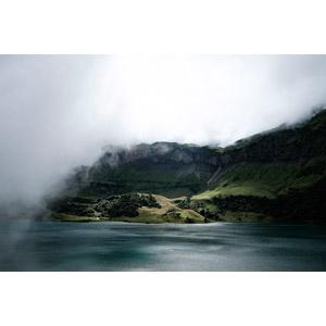 フリー写真, 風景, 海, 海岸, 崖, 霧(霞), フランスの風景