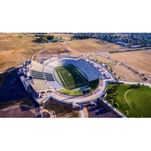 フリー写真, 風景, 建造物, 建築物, アメリカンフットボールスタジアム, スポーツ, 球技, アメリカンフットボール, アメリカの風景, コロラド州