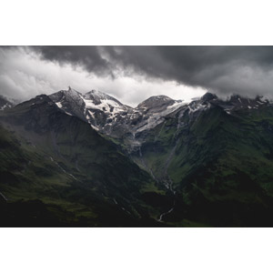 フリー写真, 風景, 自然, 山, アルプス山脈, 暗雲, オーストリアの風景