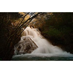 フリー写真, 風景, 自然, 森林, 河川, 滝