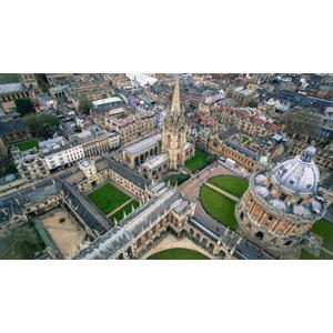 フリー写真, 風景, 建造物, 建築物, 学校, 大学, ラドクリフ・カメラ, 図書館, 教会(聖堂), オックスフォード大学, イギリスの風景